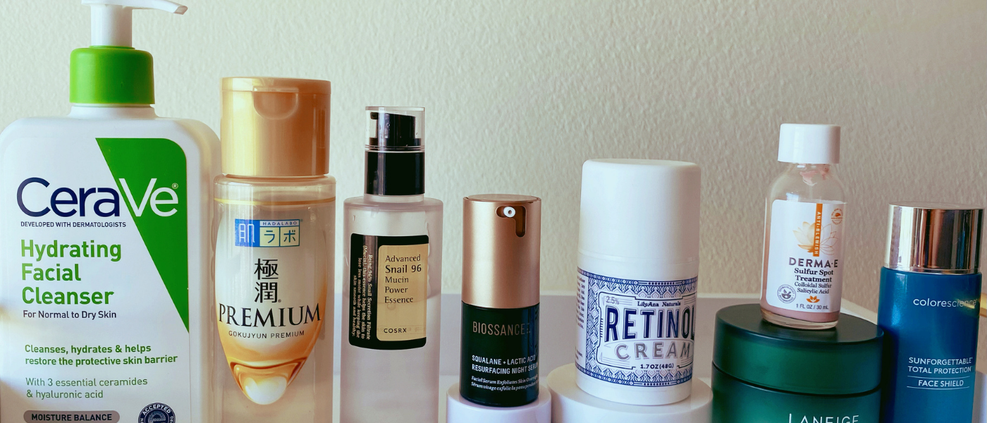 Skincare Ninja's 10 Must-Have Skincare Products