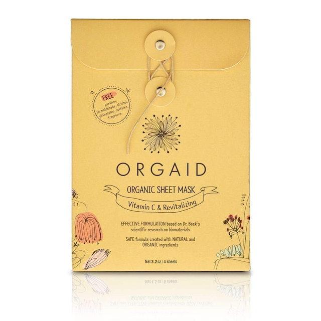 Orgaid Organic Sheet Mask 1