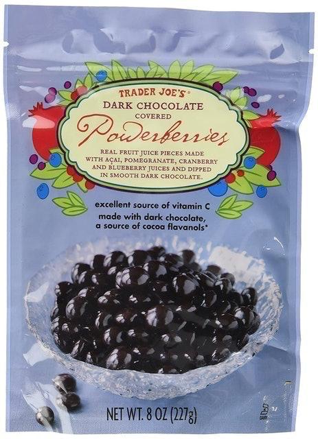 Trader Joe's Dark Chocolate Covered Powerberries 1