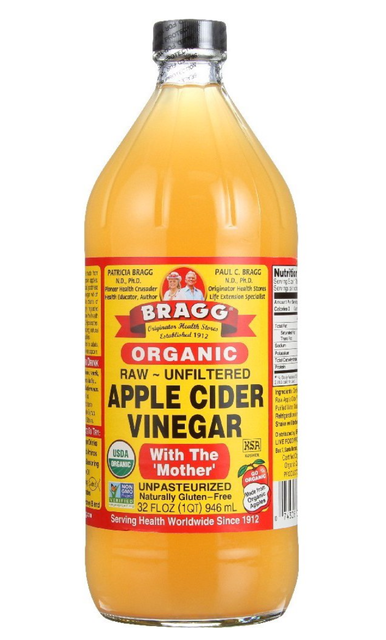 Bragg Organic Raw Unfiltered Apple Cider Vinegar with Mother 1