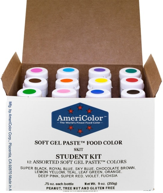 AmeriColor Food Coloring Student Kit 1
