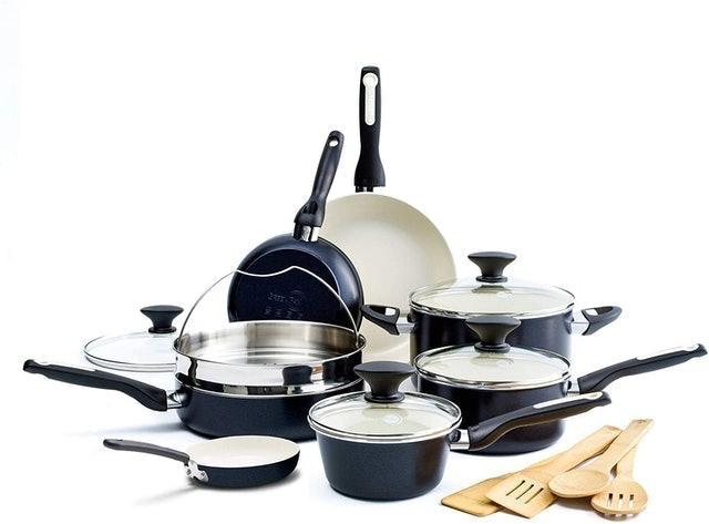 GreenPan Nonstick Cookware Pots and Pans Set 1