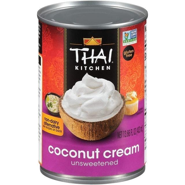 Thai Kitchen Gluten Free Unsweetened Coconut Cream 1