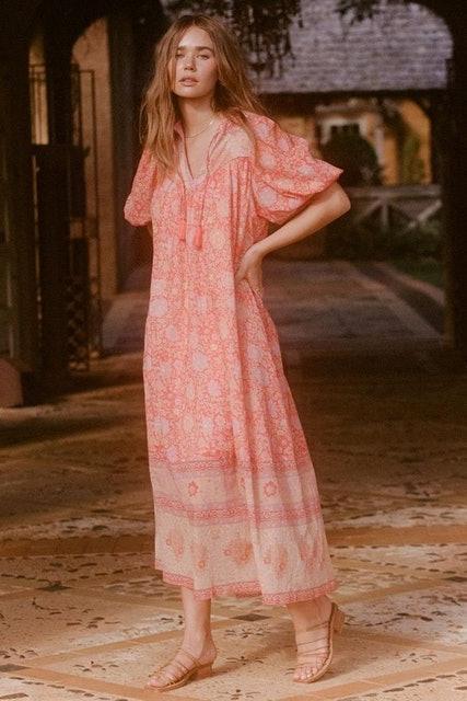 Spell Love Story Short Sleeve Boho Dress 1