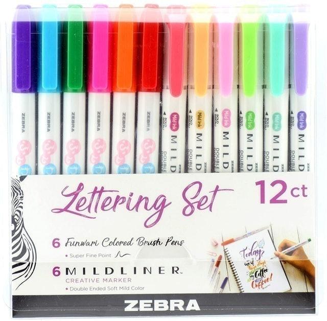Zebra Pen Lettering Set 1