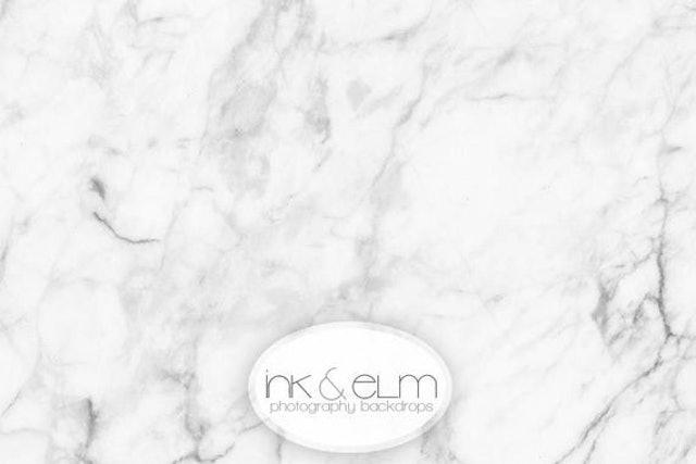 Ink & Elm Backdrops Photography Marble Backdrop 1