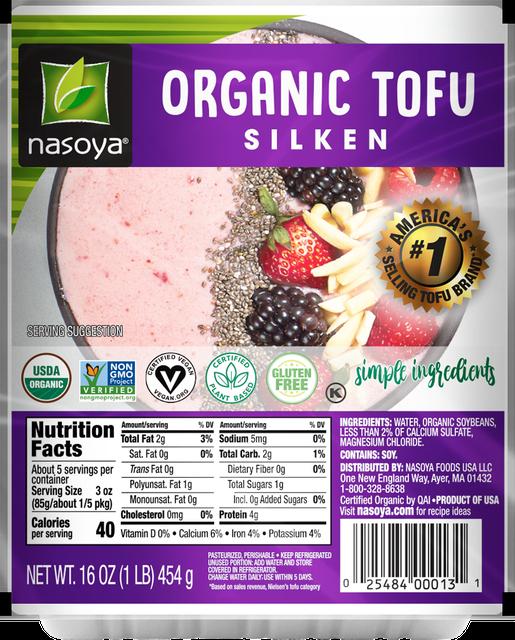 Nasoya Organic Silken Tofu 1