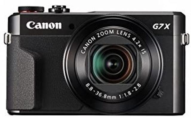 Canon PowerShot Digital Camera (G7 X Mark II) 1