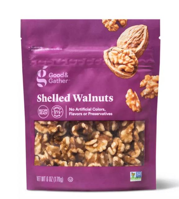 Good & Gather Shelled Walnuts 1