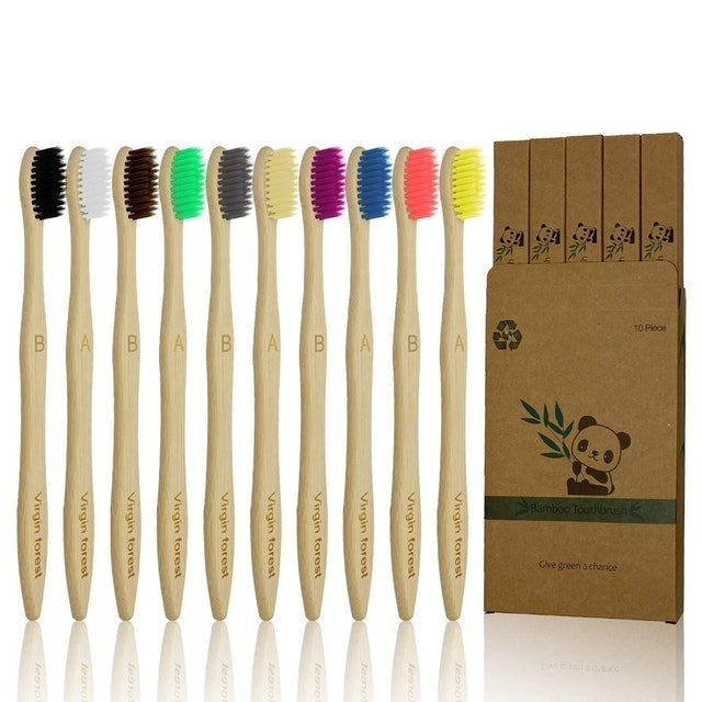 Virgin forest Bamboo Toothbrush 1