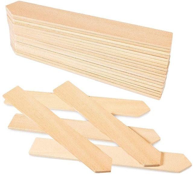 Zkptops Wooden Plant Labels 1
