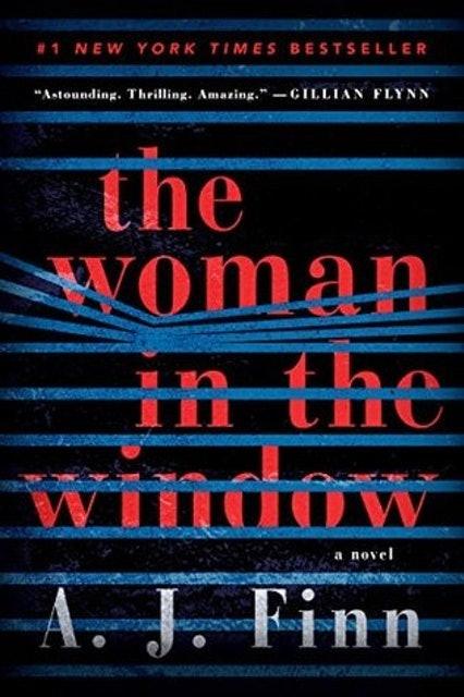 A. J. Finn The Woman in the Window 1