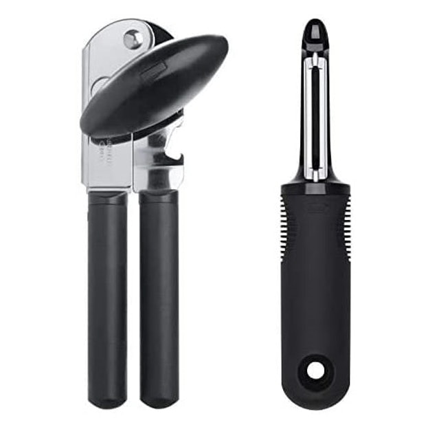OXO Good Grips Soft-Handled Can Opener & Swivel Peeler 1