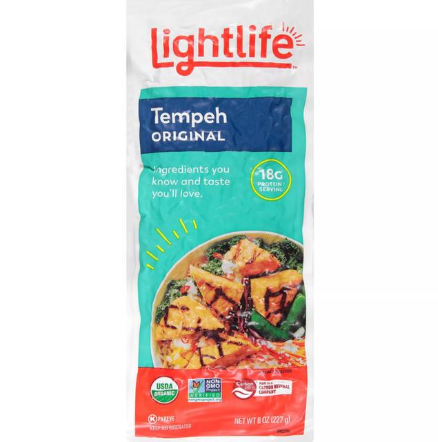 Lightlife Organic Vegan Tempeh Original 1