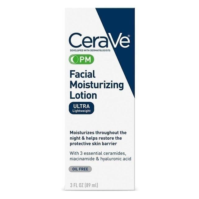 CeraVe PM Facial Moisturizing Lotion 1