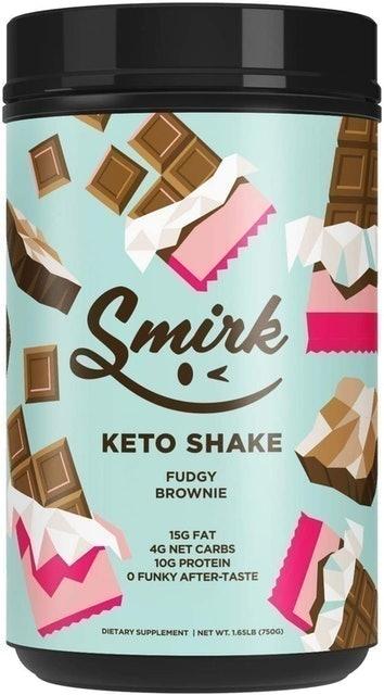 Smirk Keto Protein Powder Shake 1