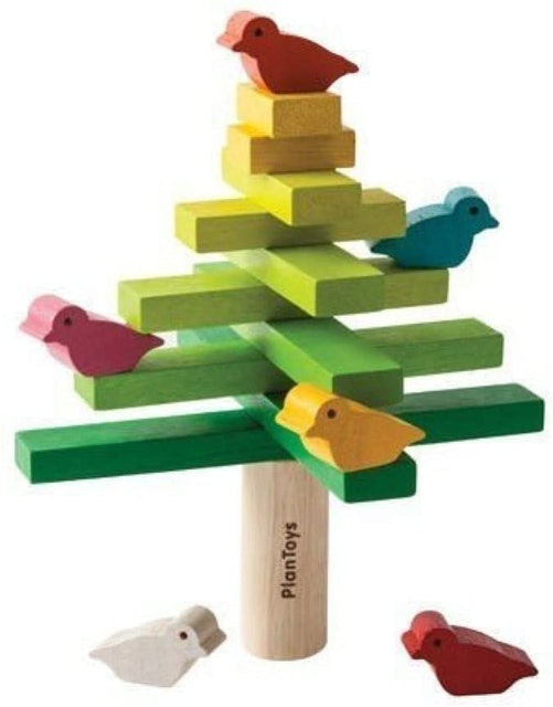 PlanToys  Wooden Balancing Tree Learning Toy 1