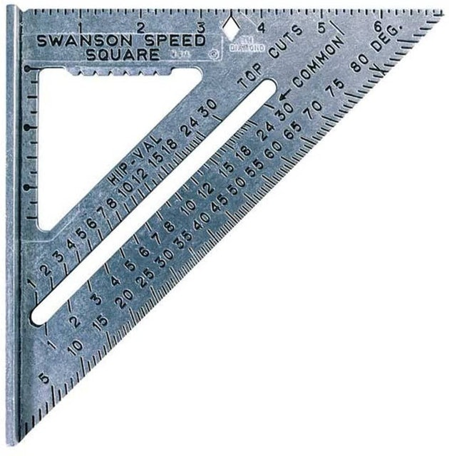 Swanson Tool 7-inch Speed Square Layout Tool 1