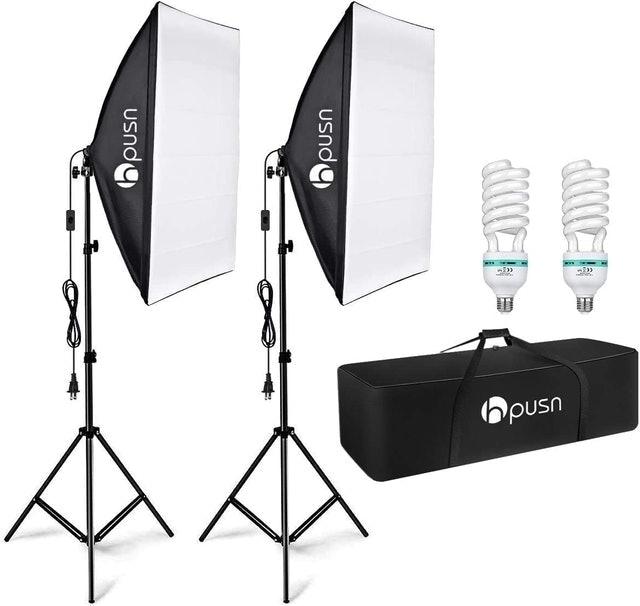 Hpusn Softbox Lighting Kit 1