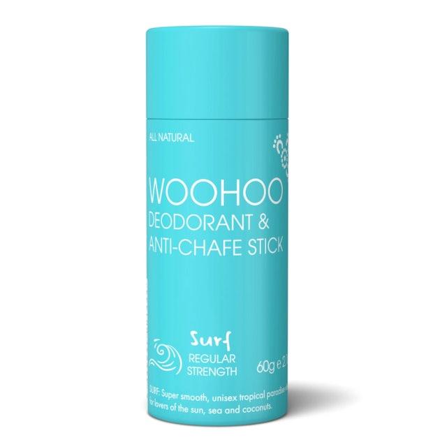 Woohoo! All-Natural Deodorant & Anti-Chafe Stick 1