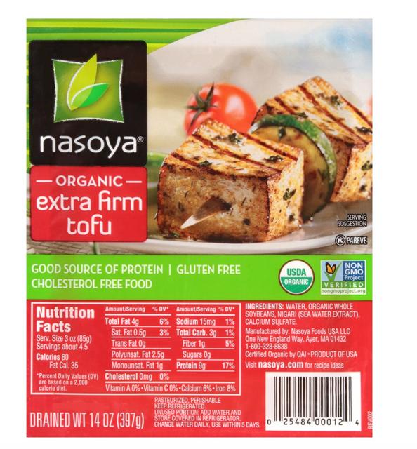 Nasoya Extra Firm Tofu 1