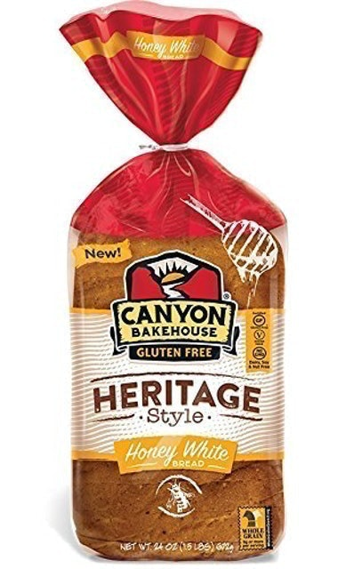 Canyon Bakehouse Gluten Free Heritage Style Honey White Bread 1