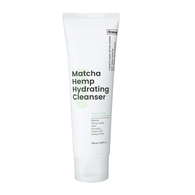 Krave Beauty Matcha Hemp Hydrating Cleanser 1