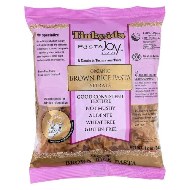 Tinkyada Gluten Free Organic Brown Rice Pasta Spirals 1