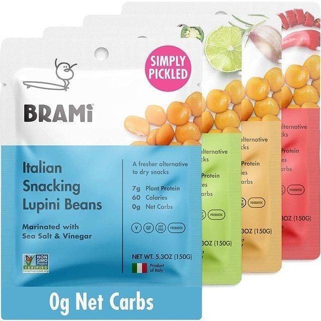 BRAMI Variety Pack Lupini Beans Snack 1