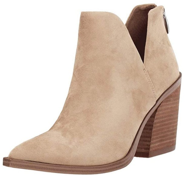 Fisace Womens Pointed Toe Ankle Boots 1