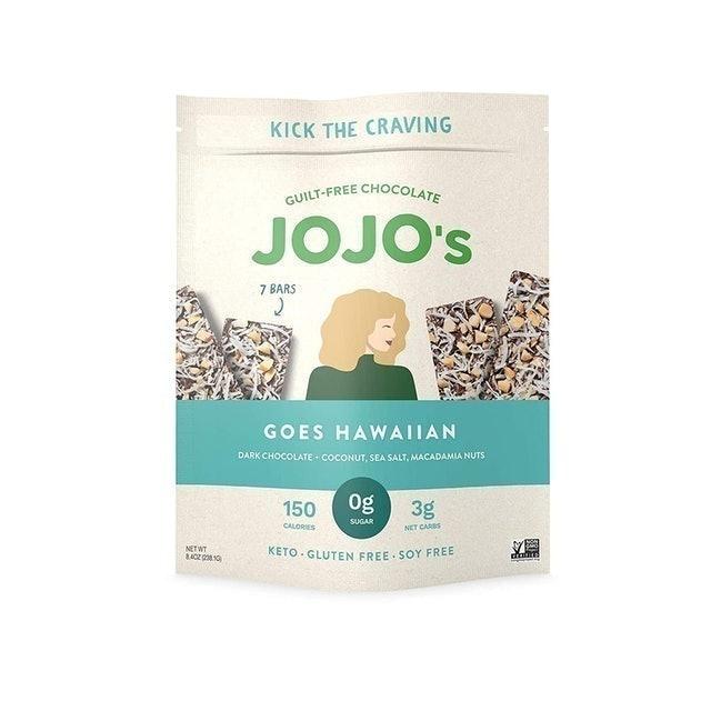 JOJO's Chocolate Goes Hawaiian Chocolate 1