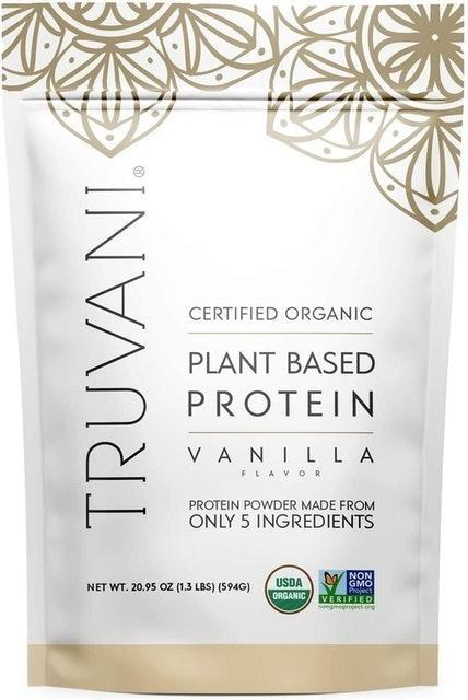 Truvani Vanilla Plant Based Protein Powder 1