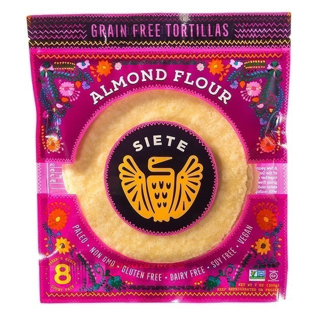 Siete Almond Flour Grain Free Tortillas 1