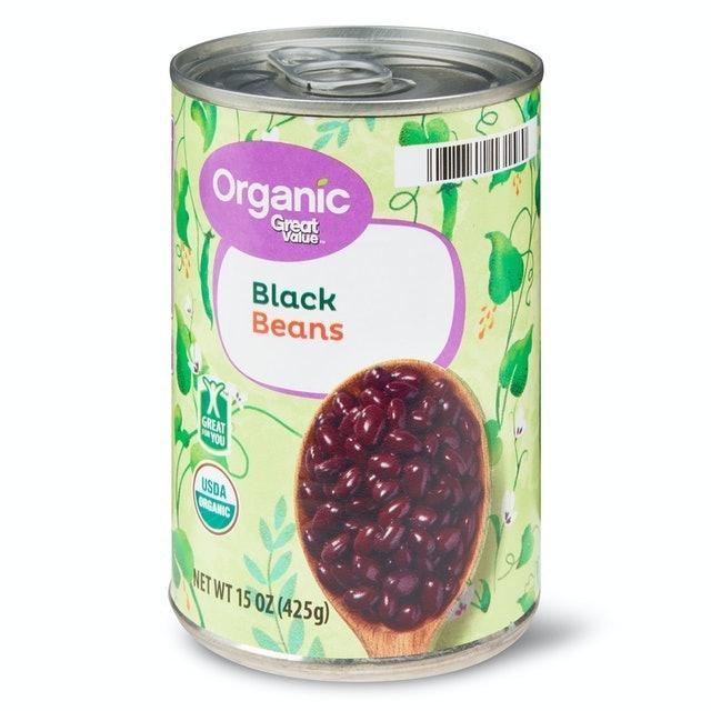 Great Value Organic Black Beans 1