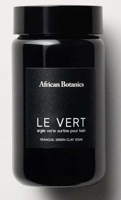 African Botanics Le vert Tranquil Green Clay Soak 1