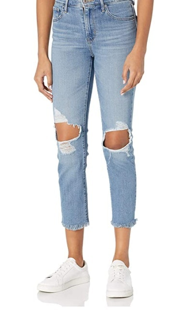 Levi's Women's 724 High Rise Straight Crop Jeans 1