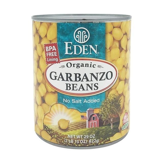 Eden  Organic Canned Garbanzo Bean 1