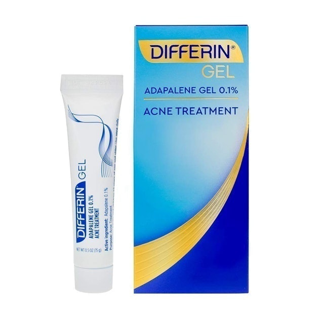 Differin Gel Acne Treatment 1