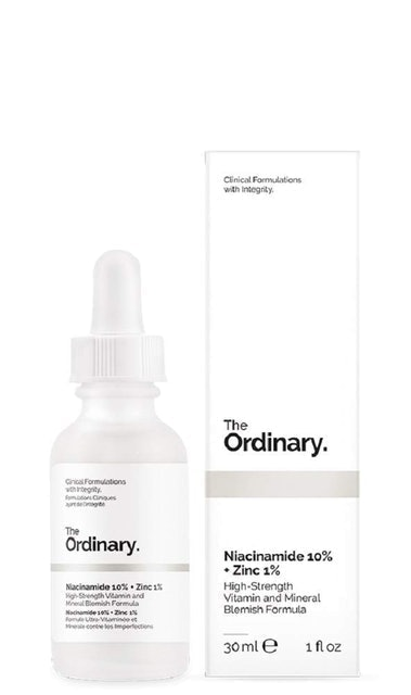 The Ordinary  Niacinamide 10% + Zinc 1% 1