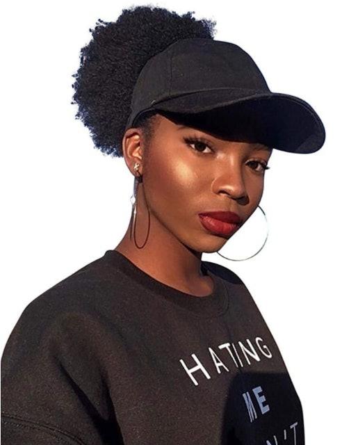 CurlCap Natural Hair Backless Cap 1