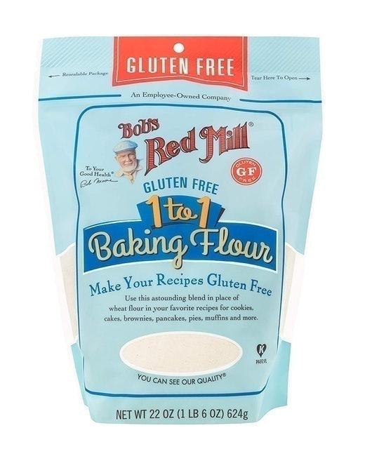 Bob's Red Mill Gluten Free 1-to-1 Baking Flour 1