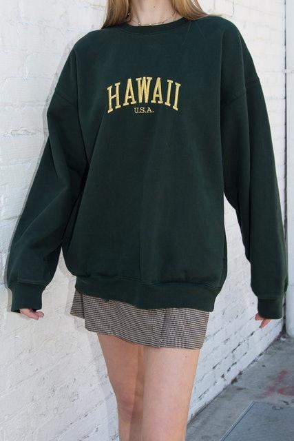 Brandy Melville Erica Hawaii Sweatshirt 1