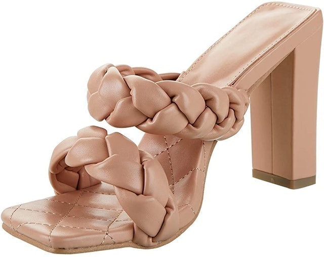 Lala Ikai Women's Braided Block Heels 1