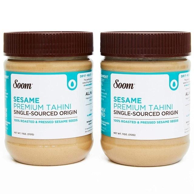 Soom Foods Pure Ground Sesame Tahini 1