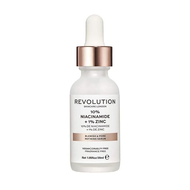 Revolution Skincare London Blemish And Pore Refining Serum 10% Niacinaminde + 1% Zinc 1