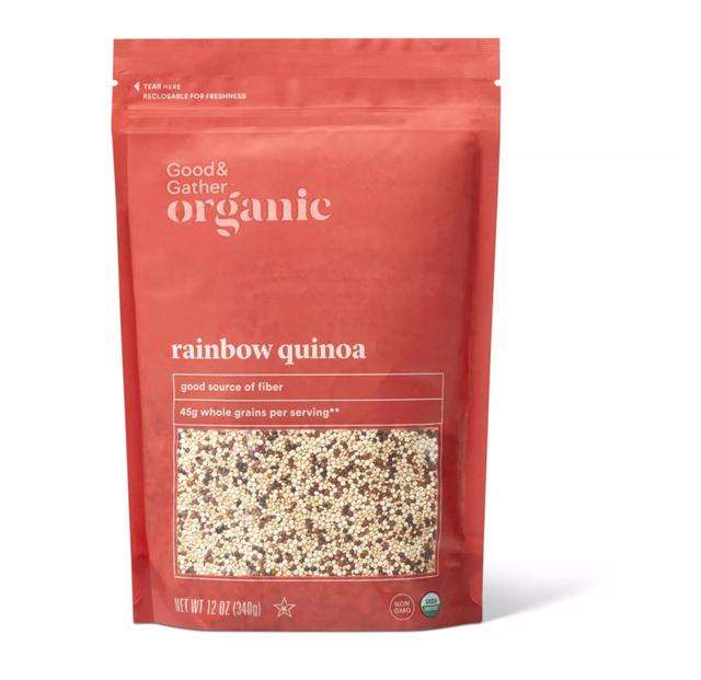 Good & Gather Organic Rainbow Quinoa 1