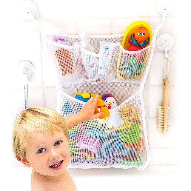 Tub Cubby Bath Toy Organizer 1