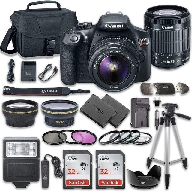 Canon EOS Rebel T6 DSLR Camera Bundle 1