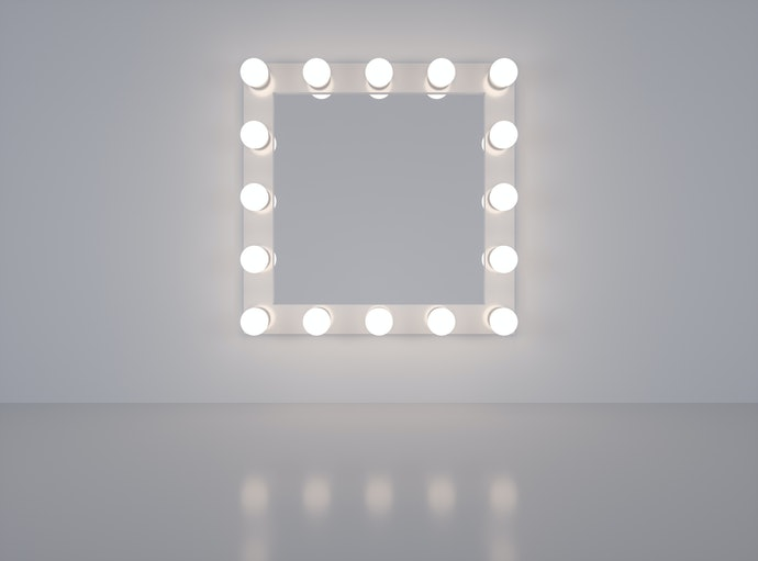 Go For a Mirror With Built-in LED Lighting