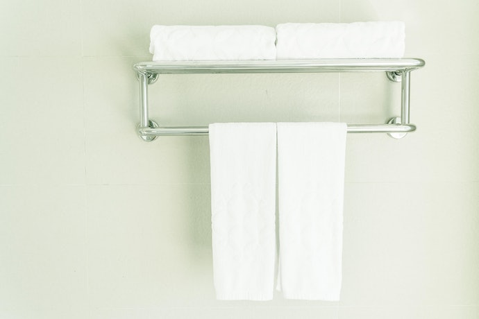Bars, Hooks, and Shelves for Versatility; Dry and Store Your Towels